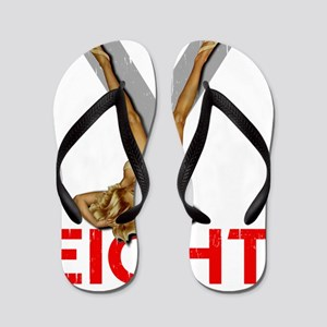 V8 ENGINE DARK copy Flip Flops