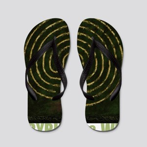 Labyrinth & well Flip Flops