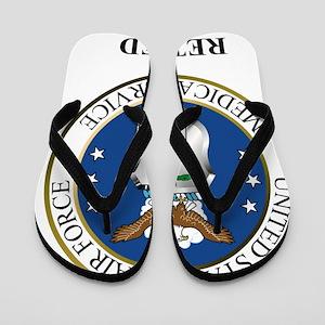 USAFMedicalServiceRetired Flip Flops