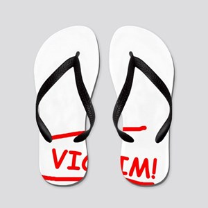 PERSONAL TRAINER AND VICTIM Flip Flops