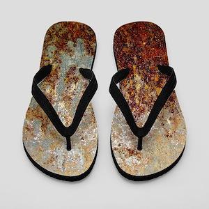 Rust Flip Flops