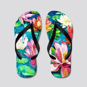 showercurtain681 Flip Flops