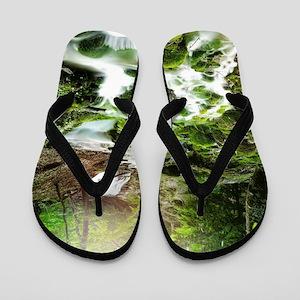 Woodland Stream Flip Flops