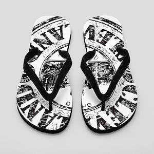 Cleveland Stamp Flip Flops
