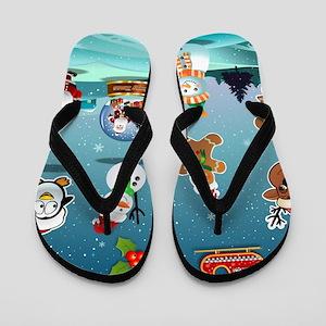 Xmas Toys Duvet Flip Flops