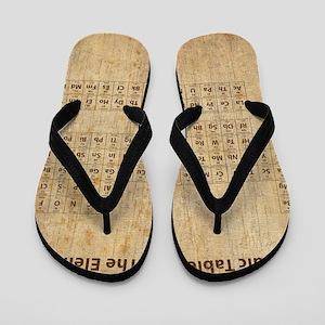 vintageperioidctable Flip Flops