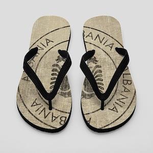 Vintage Albania Flip Flops