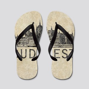 Vintage Budapest Flip Flops