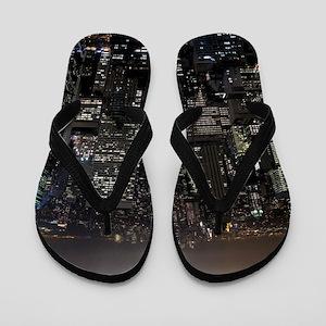 New York Souvenir NYC Empire State Gift Flip Flops