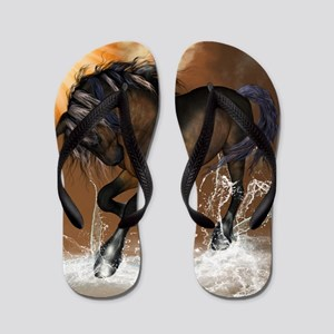 Beautiful horse Flip Flops