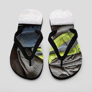 Fire Fighter Flip Flops