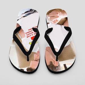 Toyoda Man Flip Flops