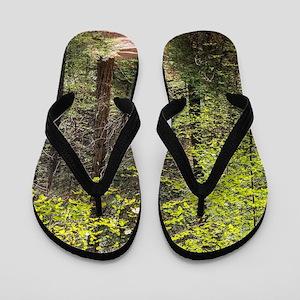 Forest Trail Flip Flops