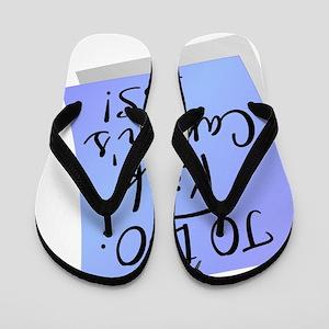 D To Do - Kick Cancers Ass Prostate Flip Flops