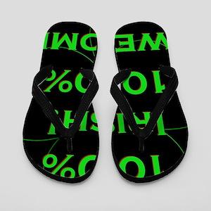 100% Irish Flip Flops