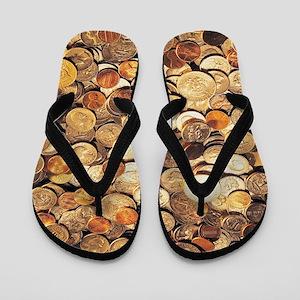 U.S. Coins Flip Flops