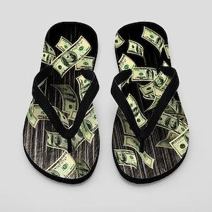 Raining Cash Money Flip Flops