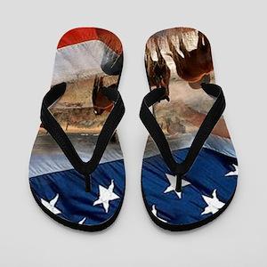 American Wild Flip Flops