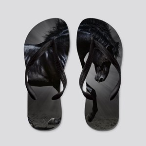Dark Horse Flip Flops