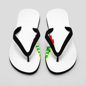 Legend of Santa Link Flip Flops