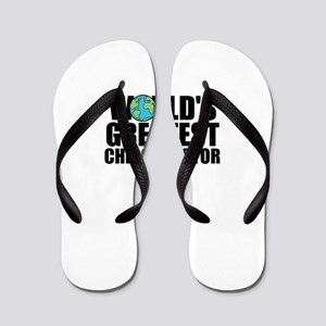 World's Greatest Chiropractor Flip Flops