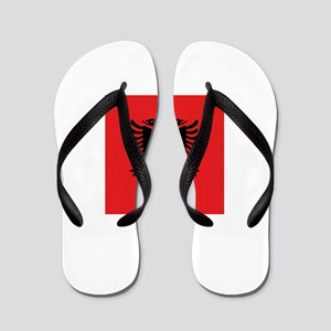 Flag of Albania Flip Flops