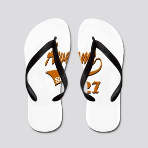 Awesome Since 1927 Birthday Designs Flip Flops