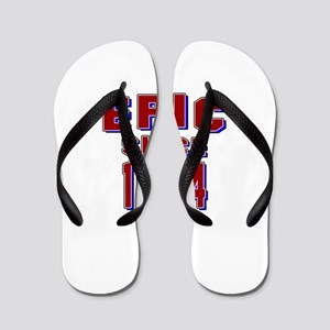 Epic Since 1974 Birthday Designs Flip Flops