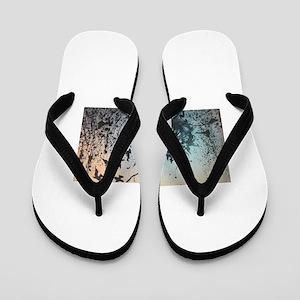 Wulan's Dandelion Flip Flops