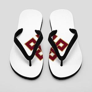 Endless knot Flip Flops