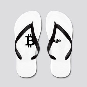 B Be The Change - Bitcoin Flip Flops
