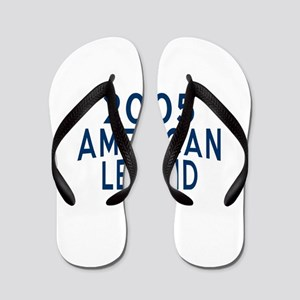 2005 American Legend Birthday Designs Flip Flops