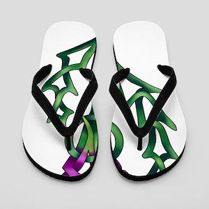 Thistle Flip Flops