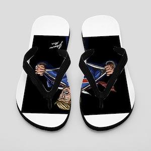 Super Trump! Flip Flops