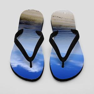 Where the World Ends signuature Flip Flops