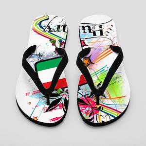 flowerHungary1 Flip Flops