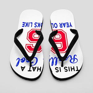 Really Cool 66 Birthday Designs Flip Flops