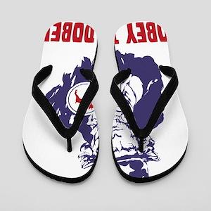 Doberman-Pinscher18 Flip Flops