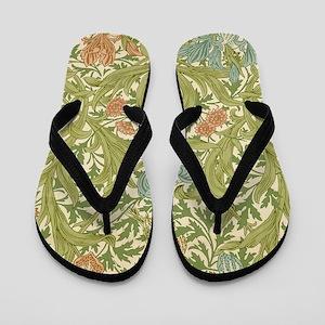 William Morris Iris Flip Flops