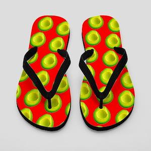 Avocado Fiesta for Hector Flip Flops