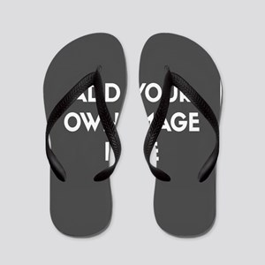 Add Your Own Image Flip Flops
