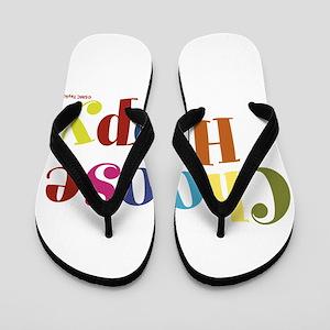 Choose Happy 01 Flip Flops