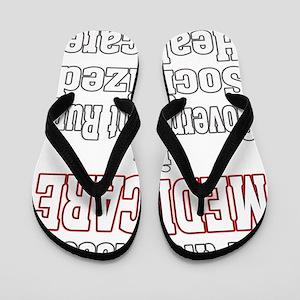 medicare 4 Dark Flip Flops