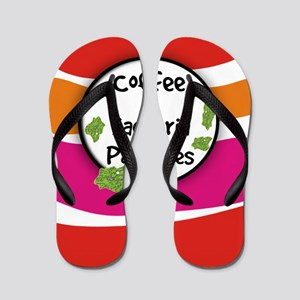 Coffee and Bacteria Particles Flip Flops