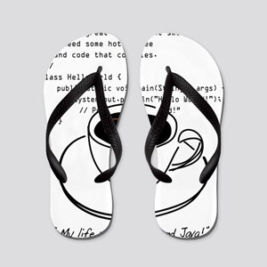Geektastic: Revolve Around Java Flip Flops