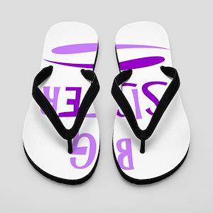 BIG SISTER Flip Flops