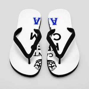 I cant keep calm Im ABBA Flip Flops