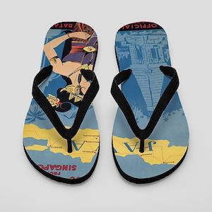 Vintage poster - Java Flip Flops