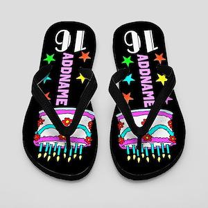 Glamorous 16th Flip Flops