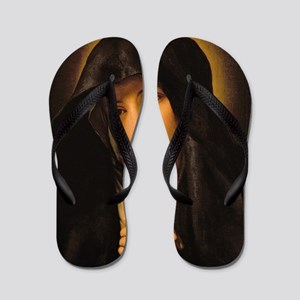 Madonna by Il Sassoferrato Flip Flops